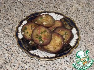 Рецепт Печеные баклажаны в маринаде по-испански