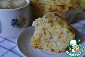Рецепт Морковно-рисовая запеканка