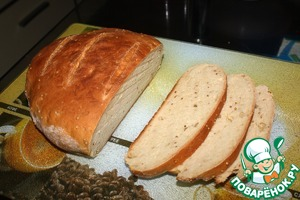 Рецепт Горчичный хлеб в духовке