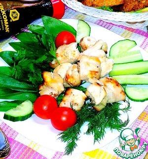 Рецепт Куриный шашлык в духовке