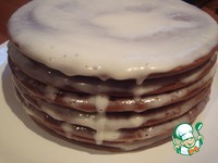 Шоколадный торт из наливных коржей ингредиенты