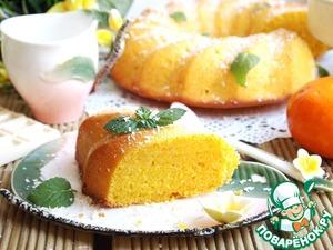 Рецепт Морковно-апельсиновый манник