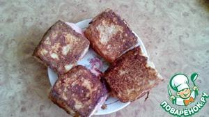 Рецепт Бутерброды для любимого мужа