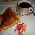 Пирожки с кускусом и ревенем