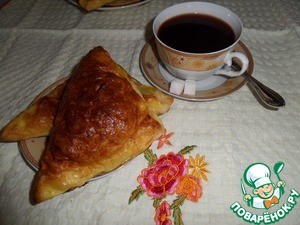 Рецепт Пирожки с кускусом и ревенем