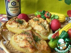 Рецепт Картошка-гриль с сюрпризом