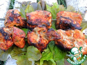 Рецепт Свинина в овощном маринаде