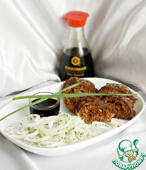 Рецепт Шашлык из рубленого мяса
