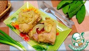 Рецепт Курица в мультиварке в фольге