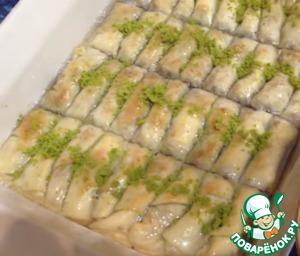 Готовим рецепт приготовления с фотографиями Турецкая пахлава