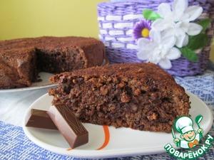 """Рецепт Шоколадный торт """"Два ореха"""""""