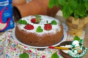 Рецепт Манник шоколадно-творожный