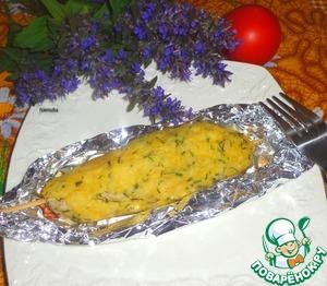 Рецепт Люля-кебаб с рыбной начинкой