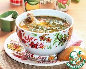Рецепт Рассольник с перловкой и солеными огурцами