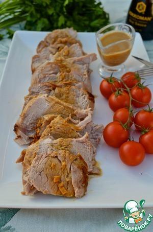 Рецепт Свиная вырезка в фольге на углях