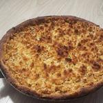 Яблочный пирог на рисовой муке без яиц