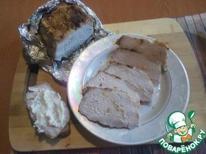 Рецепт Буженина из свиного крестца