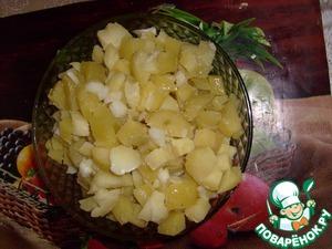 Рецепт Картофельный салат для поста