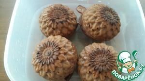 Рецепт Шоколадные кексы на рисовой муке и желтках