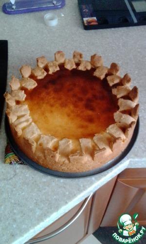 Рецепт Бананово-творожный пирог для мамочек