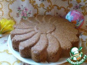 Рецепт Бисквитный пирог на белках