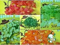 Овощной салат с кускусом ингредиенты