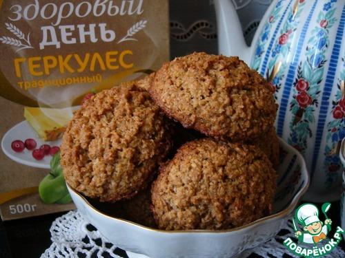 Печенье овсяное с ржаной мукой