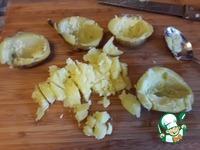 """Салат """"Дачный"""" в теплом картофеле ингредиенты"""
