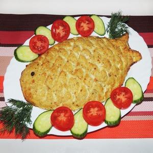 """Рецепт Запеканка """"Рыбка золотая"""""""