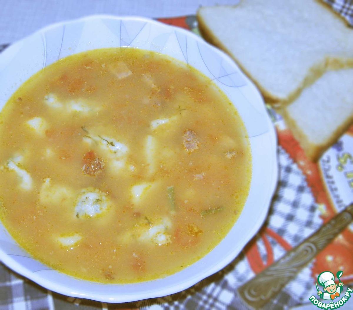 Детский суп рецепт пошагово в