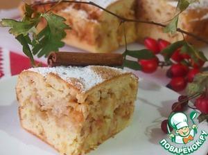 Рецепт Воскресный яблочный пирог