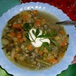 Суп жюльен почти классический