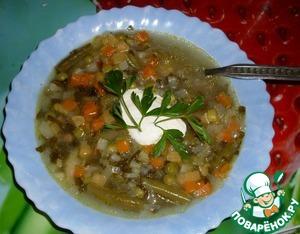 Рецепт Суп жюльен почти классический