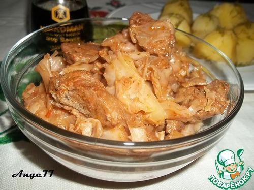 свинина капустой рецепт фото