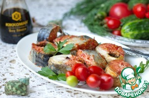 Рецепт Скумбрия с томатами