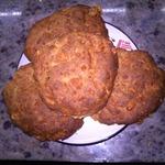 Ржаные коржики с сыром