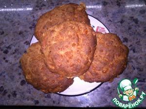 Рецепт Ржаные коржики с сыром