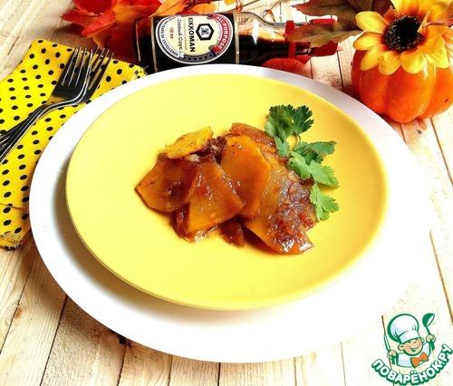 Готовим Тушеная гарнирная тыква домашний рецепт приготовления с фото пошагово #7