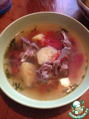 Рецепт Шулюм из баранины