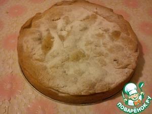 """Рецепт Яблочный пирог """"Ленивый штрудель"""""""