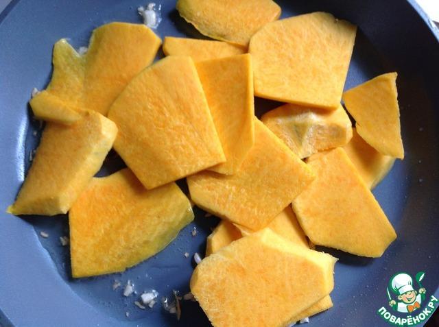 Готовим Тушеная гарнирная тыква домашний рецепт приготовления с фото пошагово #2