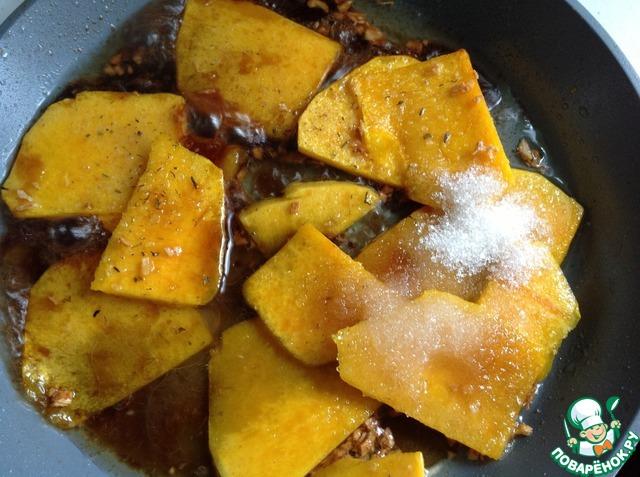 Готовим Тушеная гарнирная тыква домашний рецепт приготовления с фото пошагово #3
