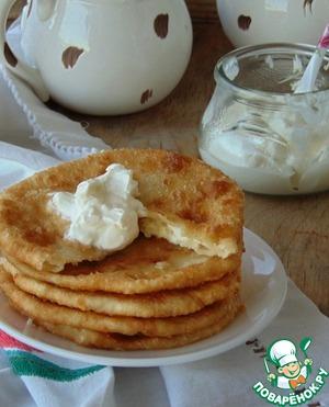 Как приготовить Лепешки с плавленными сырками простой рецепт с фотографиями пошагово