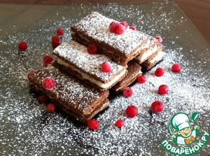 Рецепт Шоколадно-овсяное печенье-сэндвич
