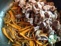 Куриные желудки по-корейски ингредиенты