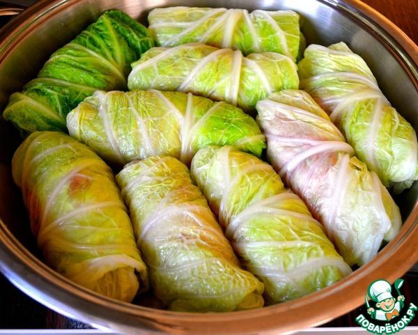 Голубцы из Прованса домашний пошаговый рецепт приготовления с фото как приготовить #8