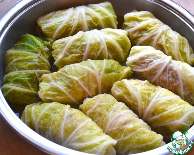 Голубцы из Прованса домашний пошаговый рецепт приготовления с фото как приготовить #9