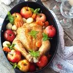 Вкуснейшая курица для семейного торжества