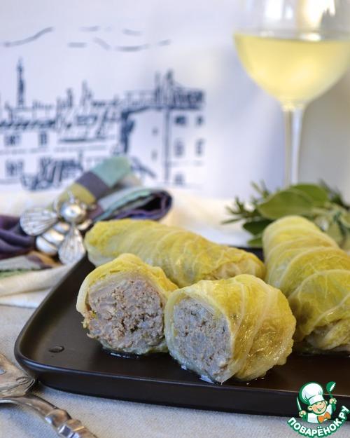 Голубцы из Прованса домашний пошаговый рецепт приготовления с фото как приготовить #12