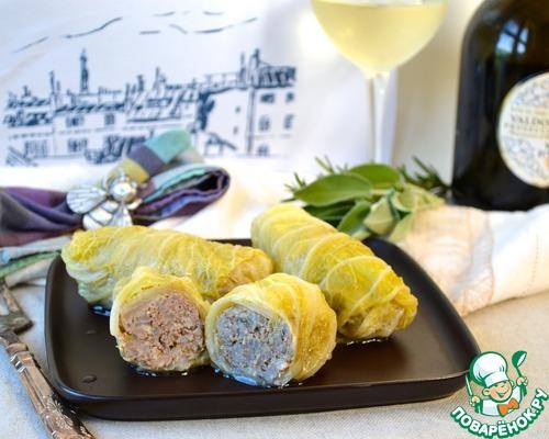 Голубцы из Прованса домашний пошаговый рецепт приготовления с фото как приготовить #13